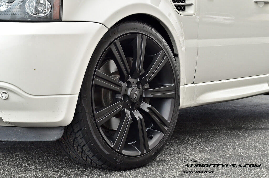"22"" RR Stormer Replica wheels matte black on SUPERCHARGED ..."