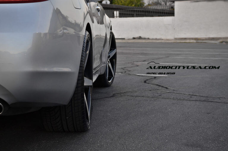 22&#8243; Lexani R Four black machine wheels on 2012 Infiniti M37 <-------Must See------->