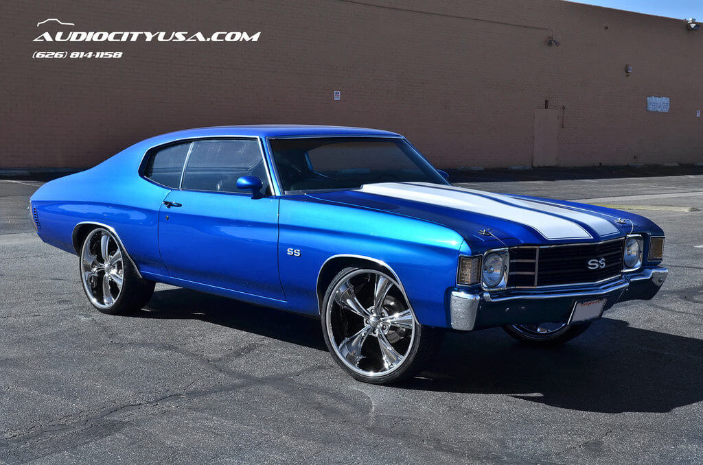 chevelle boss 1972 ss 338 22 chrome chevy muscle