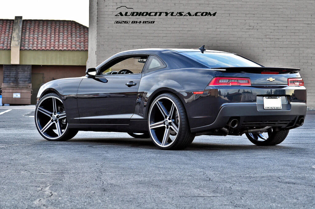 2014 Chevy Camaro Rs With 24 Quot Iroc Wheels Rims With Custom