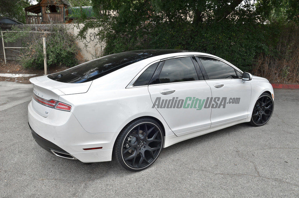 2014 Lincoln Mkz 3 7 On 22 Quot Gianelle Wheels Puerto By