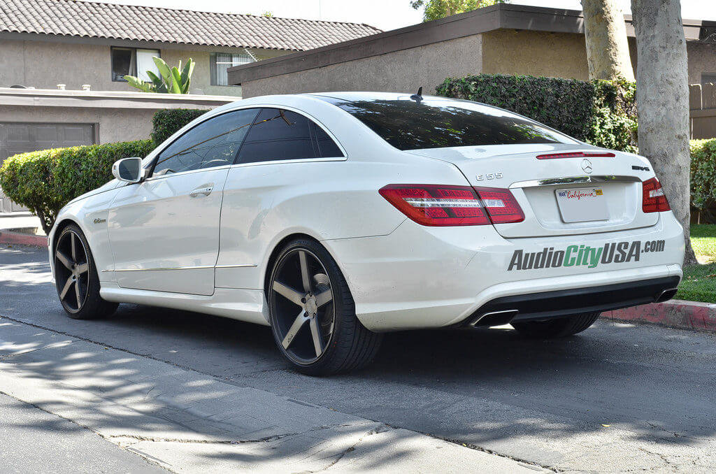 2011 mercedes benz e class 20 niche wheels milan
