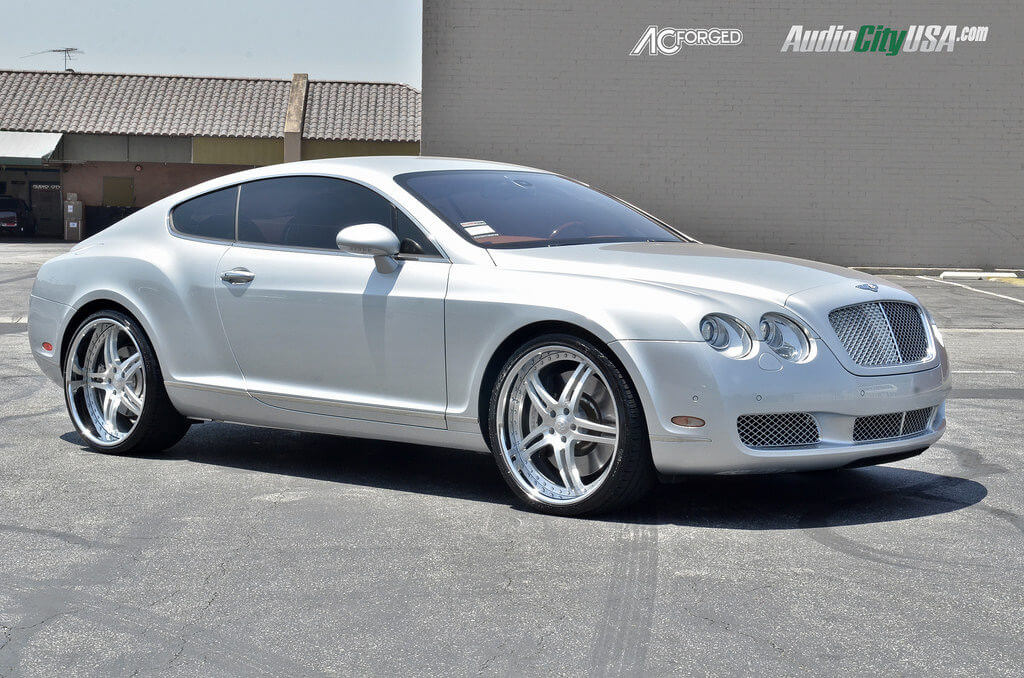 2006 Bentley Continental Gt With 22 Quot Ac Forged Wheels