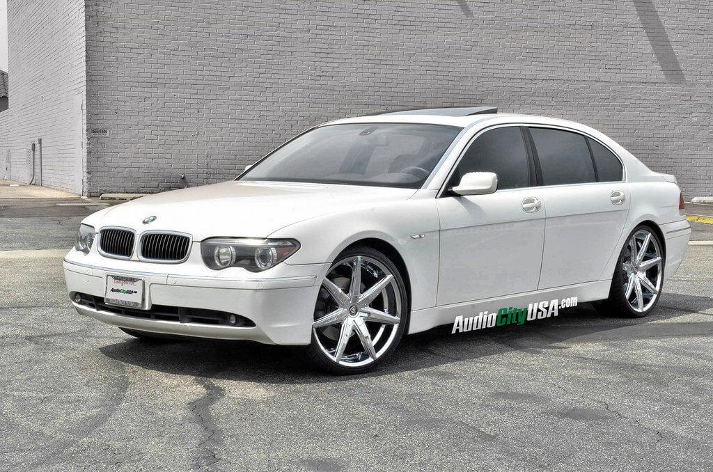 Lexani Wheels R Seven Chrome On BMW LI - 745 bmw li
