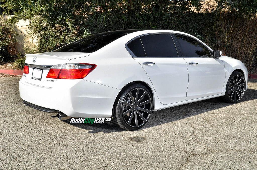 Honda Accord Sport 2014 Black Rims Www Pixshark Com