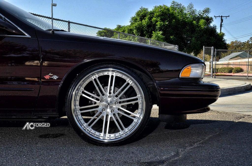 1996 Chevy Impala SS on 22