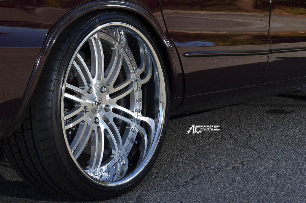 1996 Chevy Impala Ss On 22 Quot Ac Forged Wheels Split 10
