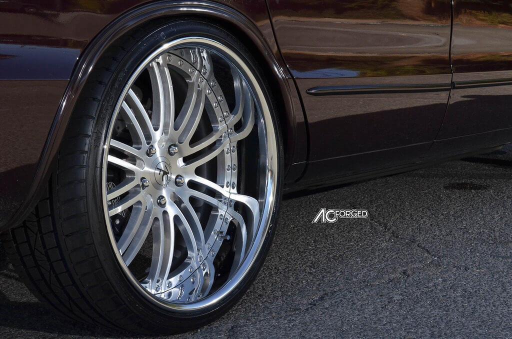 "1996 Chevy Impala SS on 22"" AC Forged Wheels Split 10 ..."