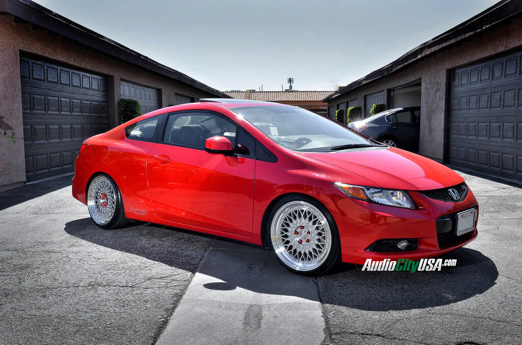 2013 Honda Civic Si On 19 Quot Avant Garde Wheels M220 Silver