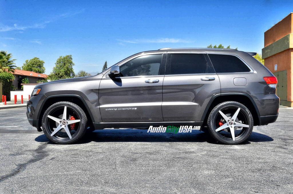 2014 Jeep Grand Cherokee On 22 Quot Blaque Diamond Wheels Bd