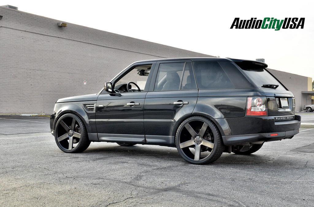2011 Range Rover Hse On 24 Quot Dub Wheels Ballers S116 Black