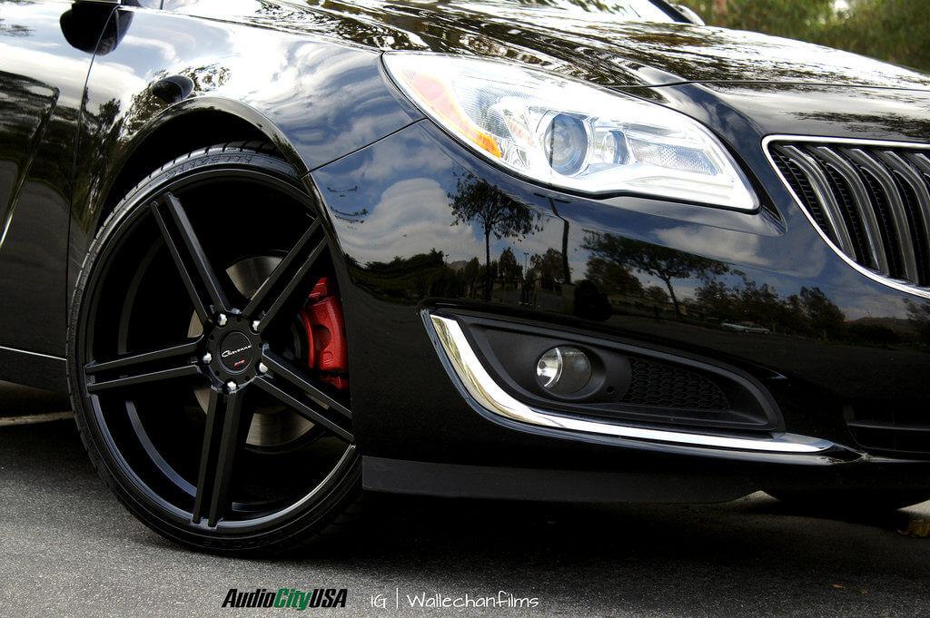 2013 Buick Regal On 22 Quot Gianelle Wheels Lucca Matte Black