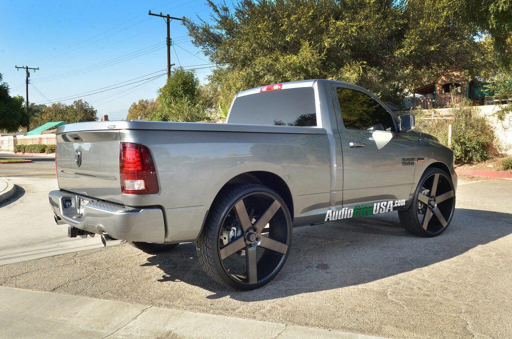 dub wheels ballers   dodge ram  audiocityusa blg blogblog