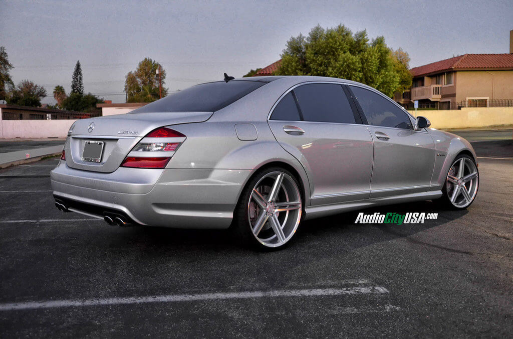 2008 Mercedes Benz S 63 Amg On 22 Quot Gianelle Wheels Lucca