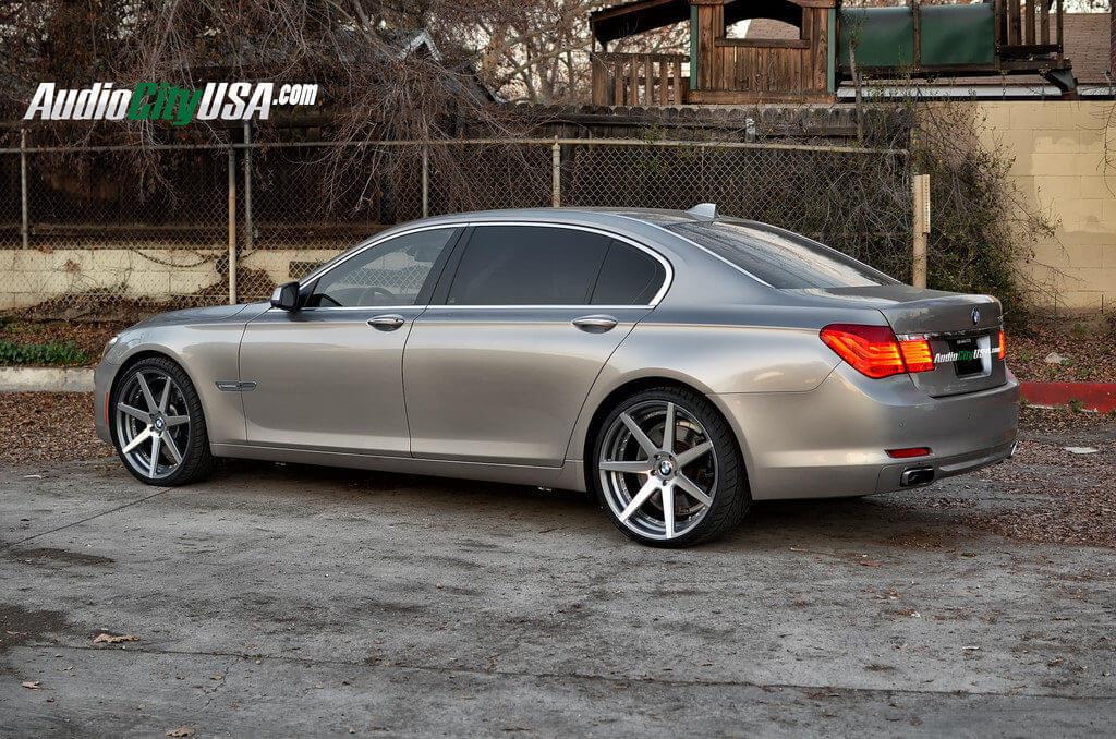 BMW LI On Curva Wheels C Gun Metal Windows - 2010 750 bmw