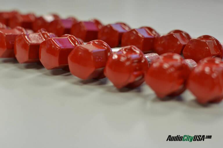 custom powder coated lug nuts or bolts any color