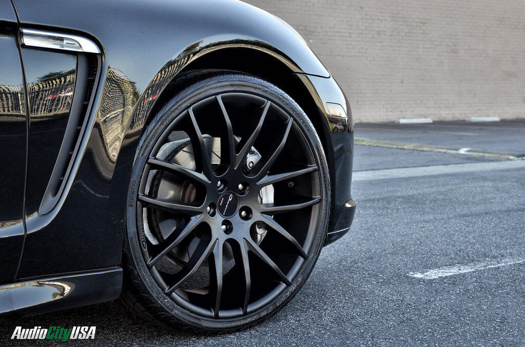 22 Quot Giovanna Wheels Kilis Matte Black On 2012 Porsche
