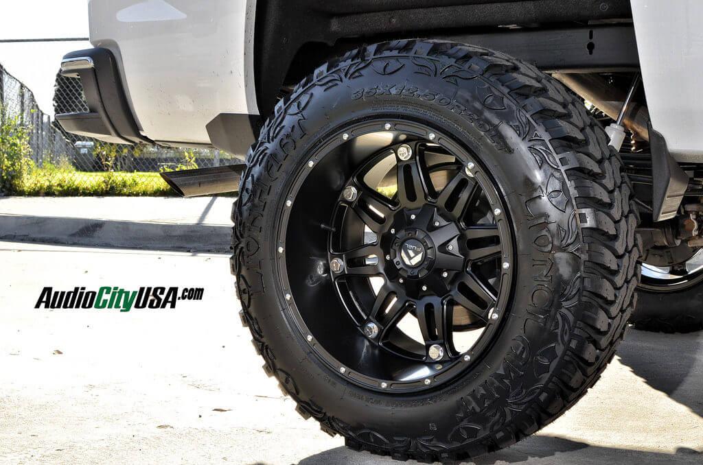 2015 Chevy Silverado 1500 20 Quot Fuel Hostage Matte Black