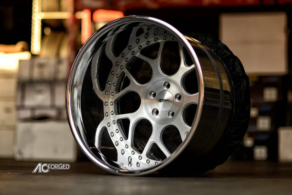 20x15 AC Forged Wheels 340 Directional Wheel HUGE LIP 2 Piece Welded Aluminum