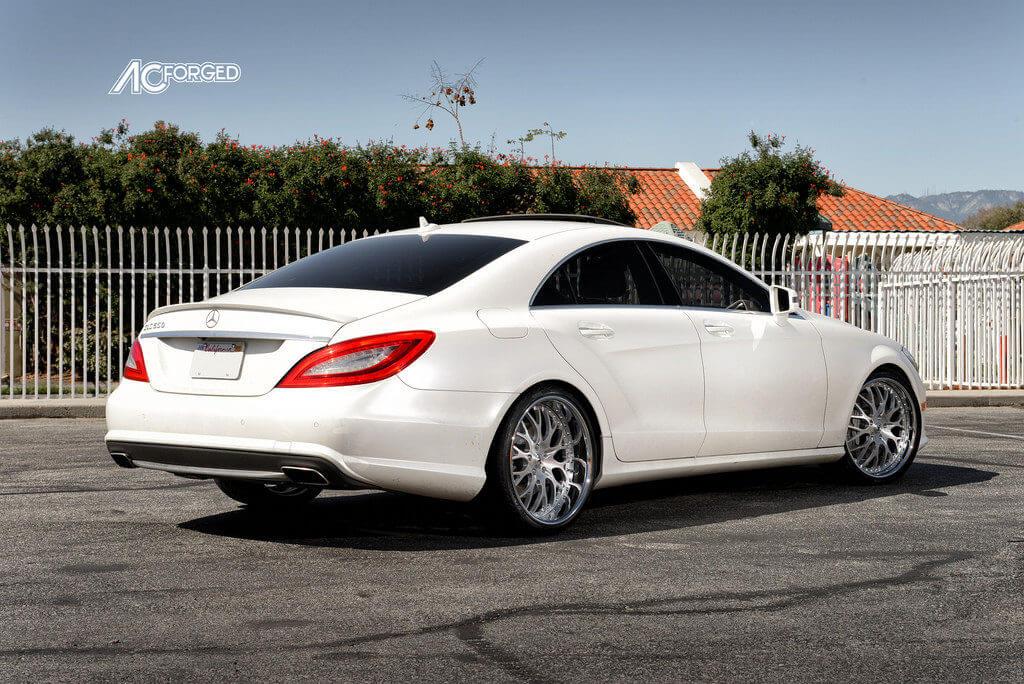 "Mercedes Benz Rims >> 2013 Mercedes Benz CLS 550 | 20"" AC Forged Wheels 313 | Pirelli Tires | Lowered - BlogBlog"