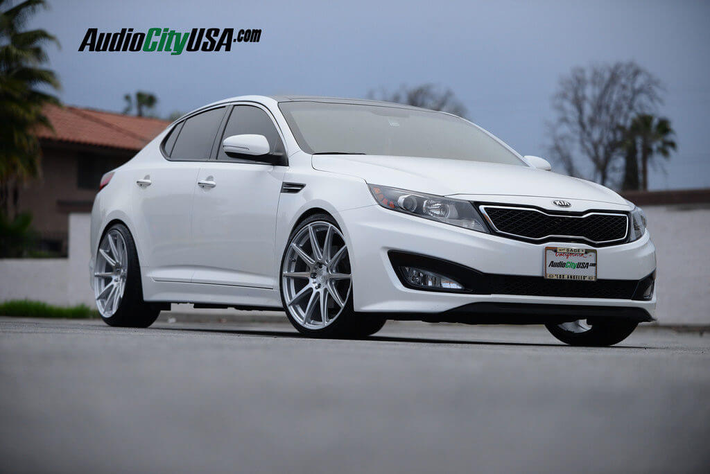 2014 Kia Optima 20 Quot Niche Wheels Essen M146 Silver H Amp R
