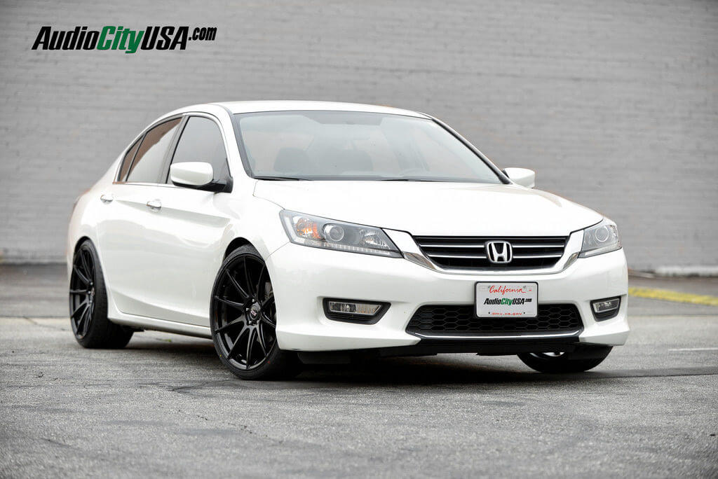 2013 Honda Accord On 20 Quot Str Wheels 524 Glossy Black