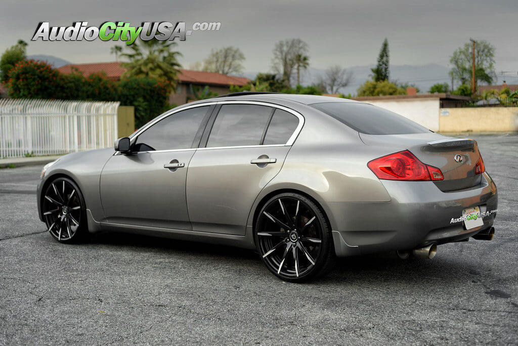 2007 Infiniti G35 Sedan On 22 Quot Lexani Wheels Css 15 Mbt