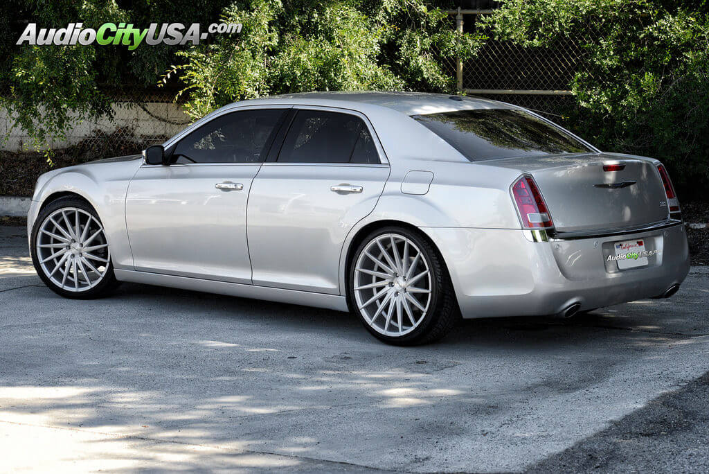 2013 Chrysler 300 C On 22 Quot Varro Wheels Vd 15 Brush Silver Deep Concave Blogblog