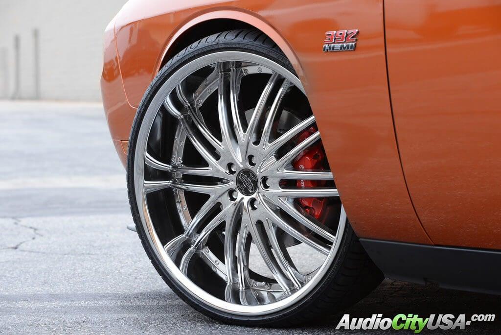 2013 Dodge Challenger Srt 8 24 Quot Versante Wheels Rims 231