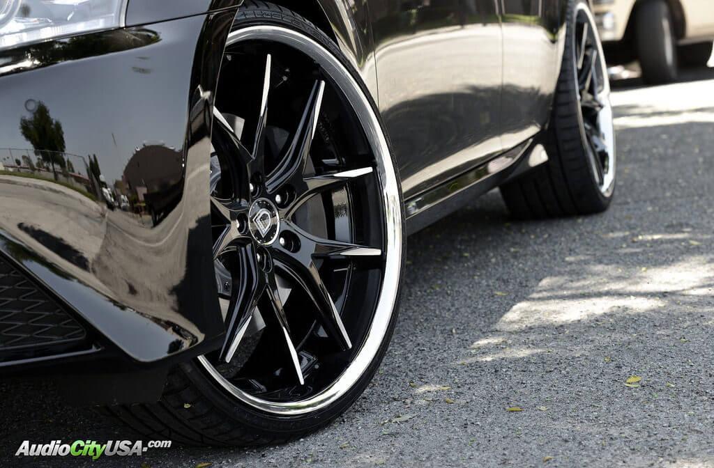 2015 Lexus Gs 350 With 22 Quot Lexani Wheels R Twelve Rims