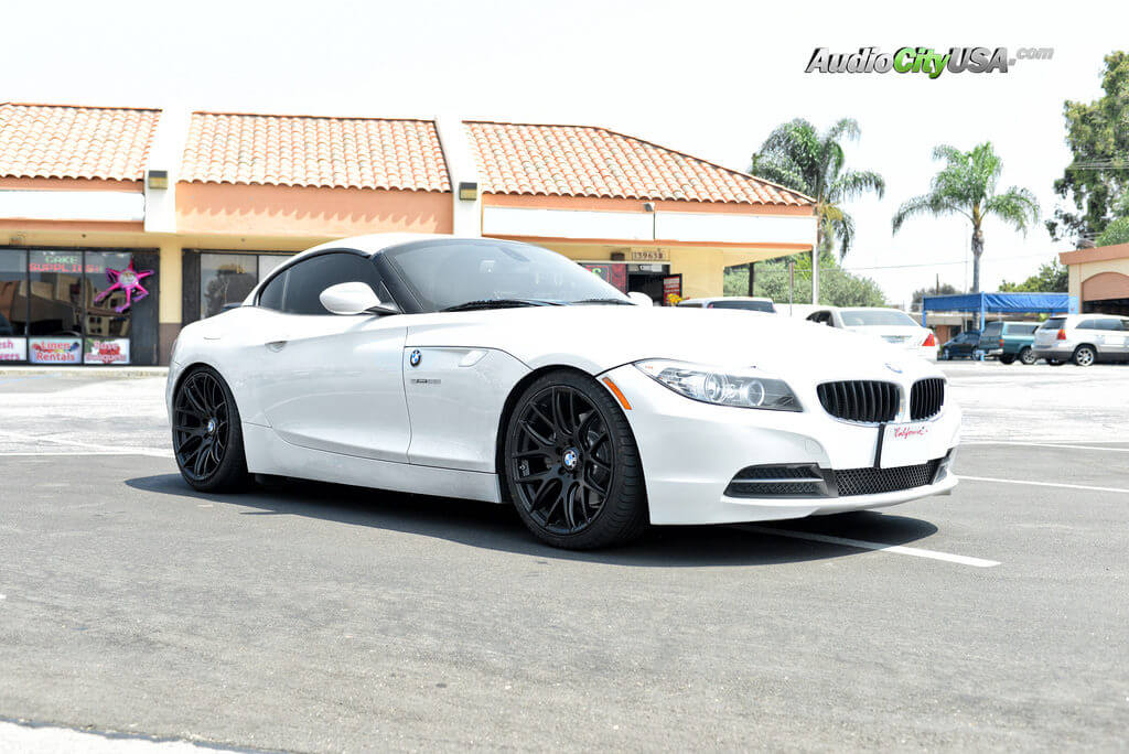 2013 Bmw Z4 Kw Coilovers 19 Quot Miro Type 111 Matte Black