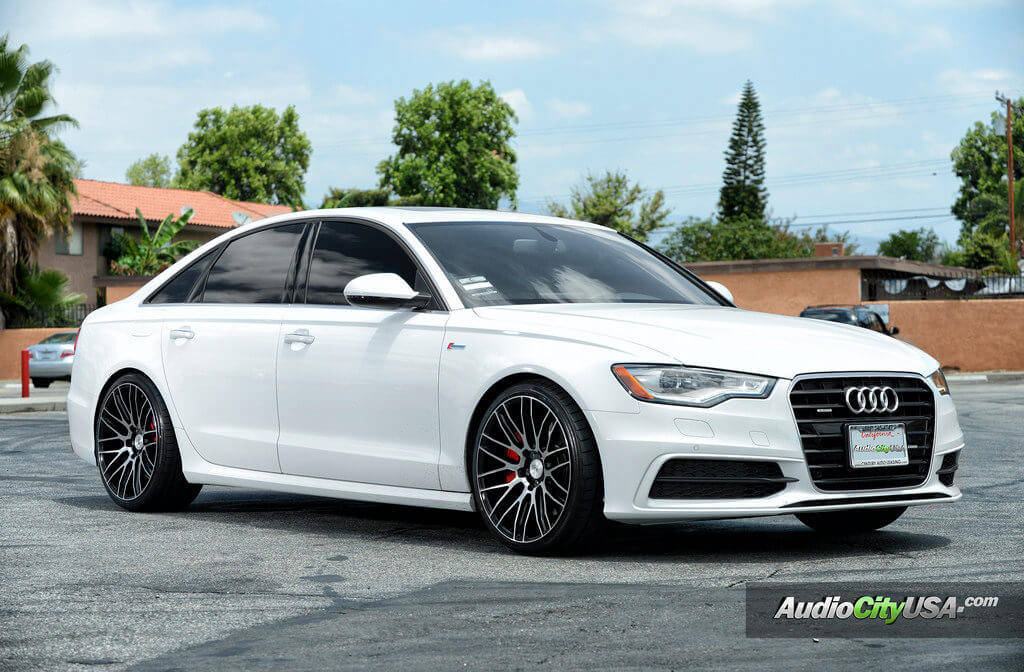 2015 Audi A6 20 Quot Savini Wheels Bm 13 Black Machine Rims