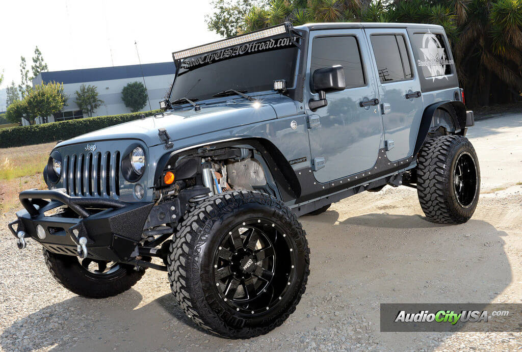 "Jeep Wrangler Rims And Tire Packages >> 2015 Jeep Wrangler | 20x12 Moto Metal Wheels 962 | 6"" Lift ..."