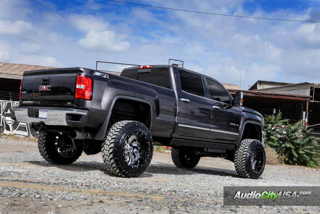 """22"""" Fuel Wheels D240 Cleaver Chrome Center"""