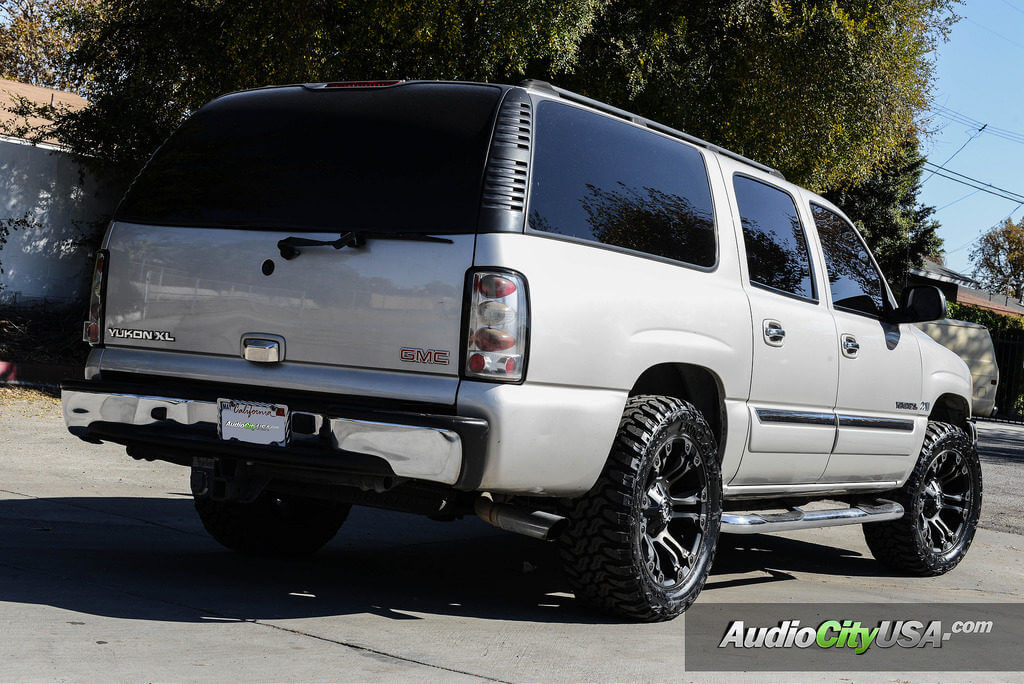 "18 Inch Rims And Tires >> 2004 GMC Yukon XL on 20"" Fuel Wheels, Rims Vapors D569 ..."