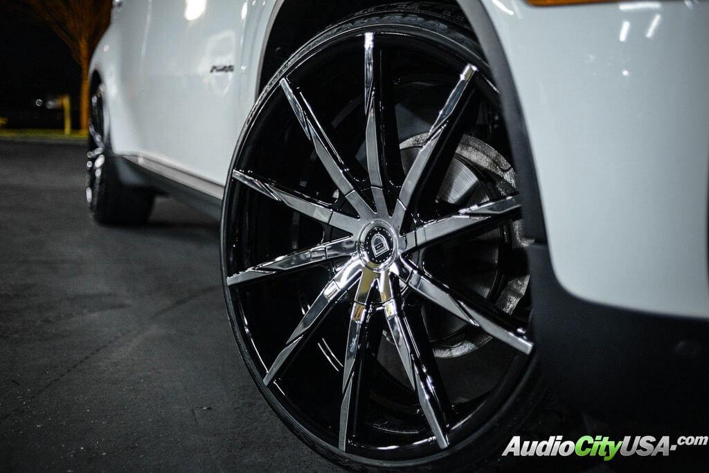 2014 Bmw X6 24 Quot Lexani Wheels Css 15 Chrome With Custom