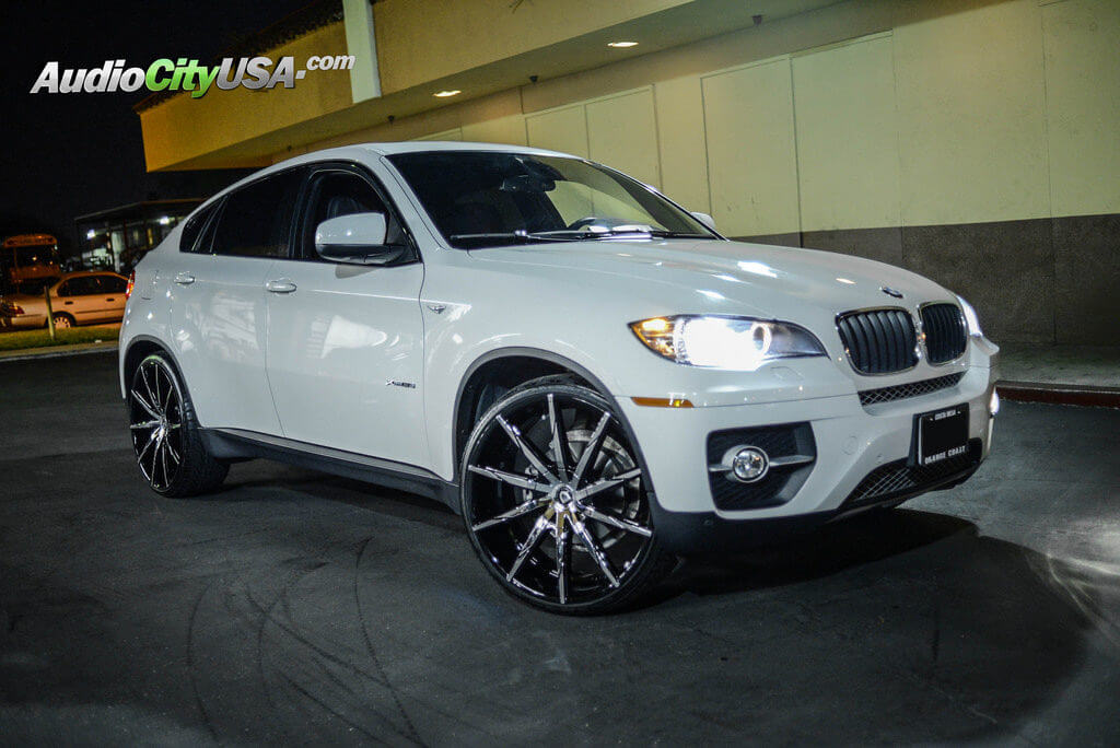 2014 Bmw X6 24 Quot Lexani Wheels Css 15 Chrome With Custom