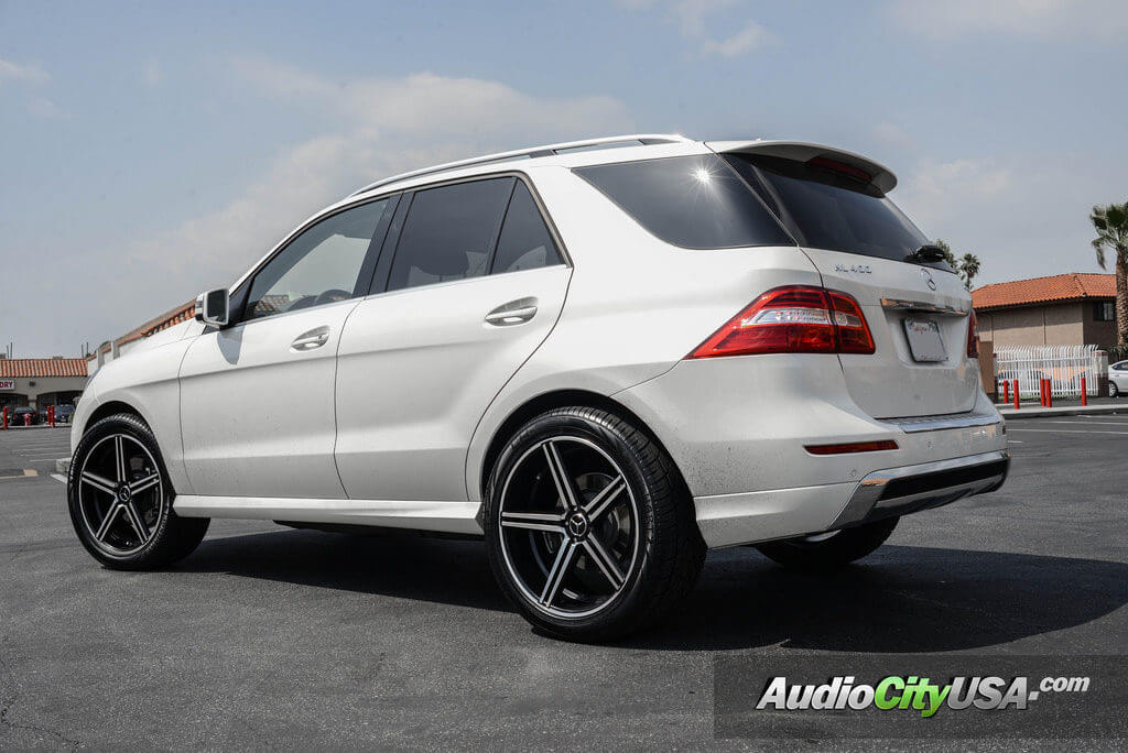 2015 mercedes benz ml 400 22 gianelle wheels lucca black machine audiocityusa blogblog. Black Bedroom Furniture Sets. Home Design Ideas