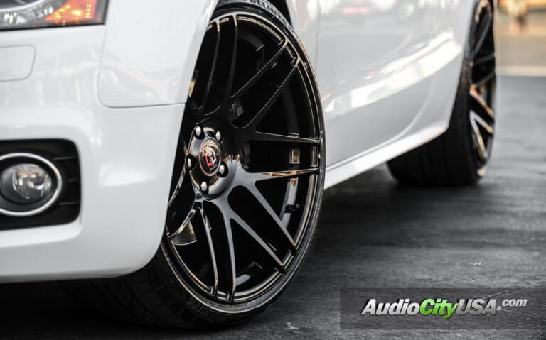 2010 Audi S5   20×10.5 Curva Wheels C300 DUAL CONCAVE rims   AudioCityUsa
