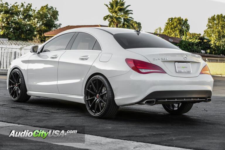 2015 Mercedes Benz CLA 250 20″ Autobahn Wheels Altenberg Gloss Black *Lightweight Rims