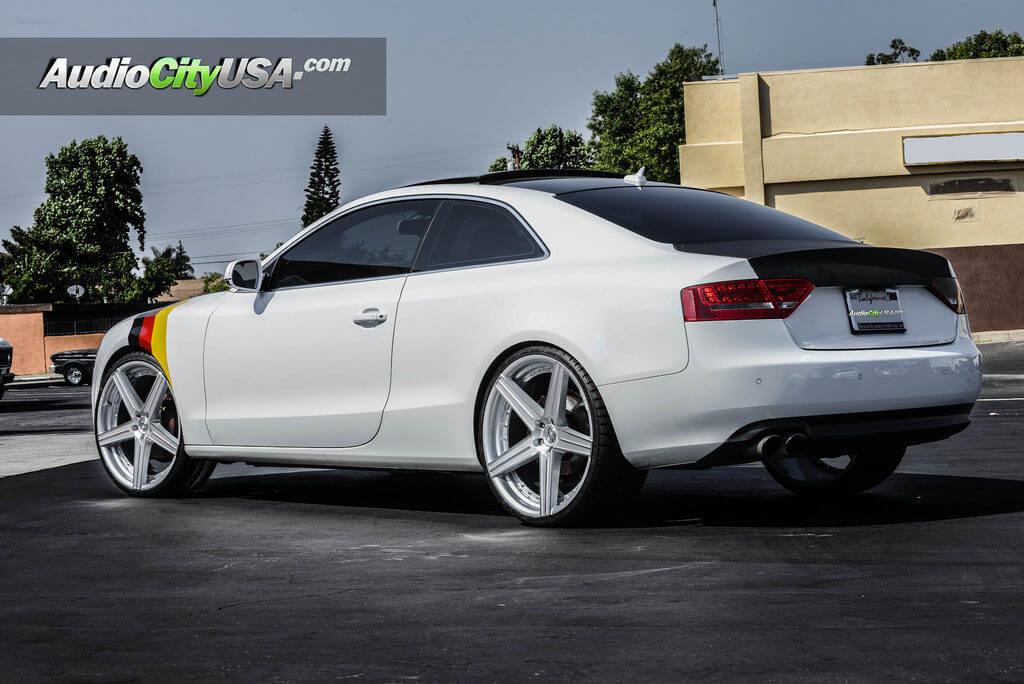 Audi A5 Quattro 22 Giovanna Wheels Dublin 5 Silver Machine Rims Audiocityusa Blg082716 Blogblog