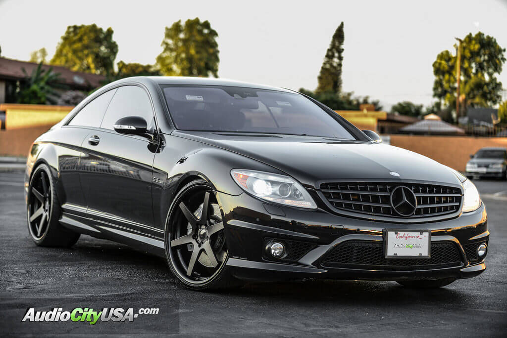 mercedes benz cls 63 amg 22 concept one wheels cs 6