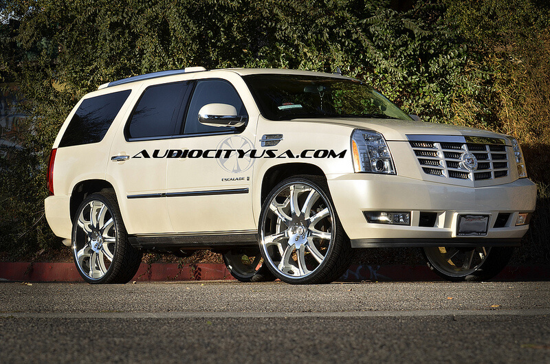 "Used Honda Fit >> 28"" Lexani LX 9 color matched on Cadillac Escalade. - BlogBlog"