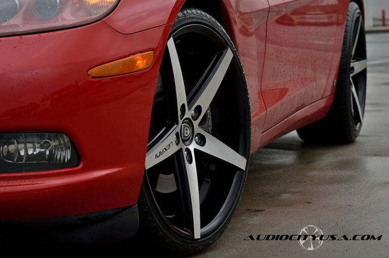 20&#8243; Lexani R Four on Chevy Corvette C6<=======