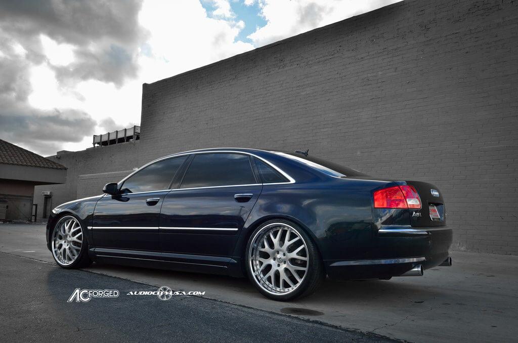 22 Ac Forged Ac 818 Lowered On Audi A8 Blg082816 Blogblog