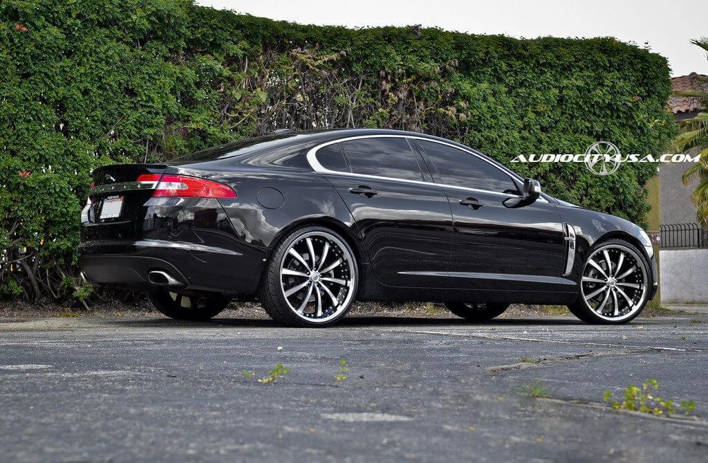 22 Lexani LSS 10 Bm Chrome Lip On Jaguar XF BlogBlog