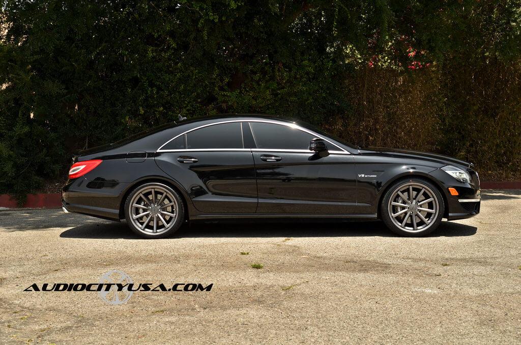 2013 Mercedes Benz Cls 63 Amg 20 Vossen Vvs Cv1 Hankook Ventus