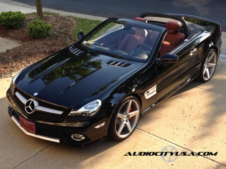 20″ XO Miami wheels | 2009 Mercedes Benz SL 550 AMG PKG | Hankook Ventus V 12