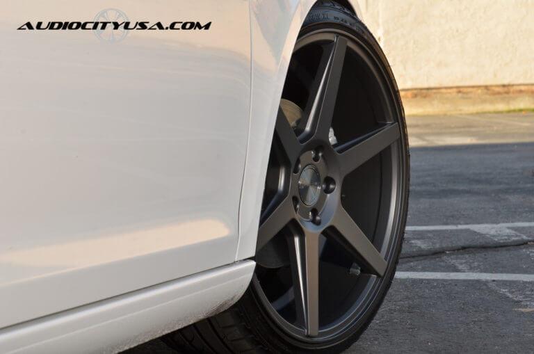 2013 Volkswagen Jetta Sport Wagen ON 19″ Stance SC6 Slate Grey ====Lowered====