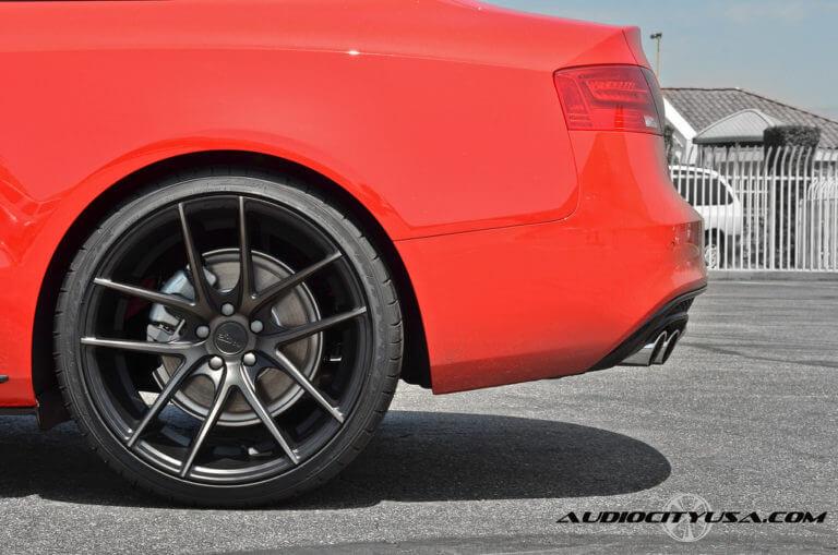 2013 Audi A5 | 20″ Niche Targa M130 | NITTO NT 555 Extreme ZR | DEEP Concave